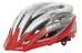 KED Wayron PRO Helmet silver red matt